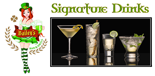 Signature Drinks