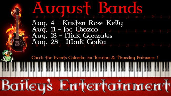 August Entertainment